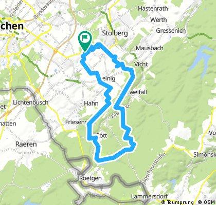 Tour in den Hürtgenwald