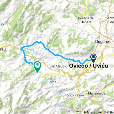 Camino de Santiago hasta Valduno