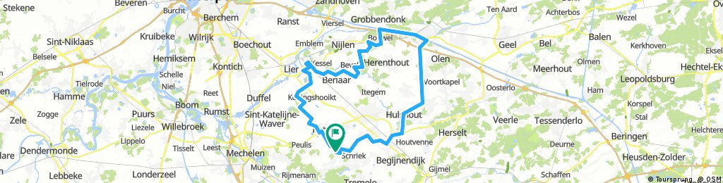 77km Grasheide - Herentals