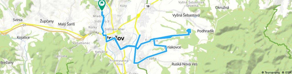 Prešov Šalgovik Fezako Teriakovce Solivar Prešov