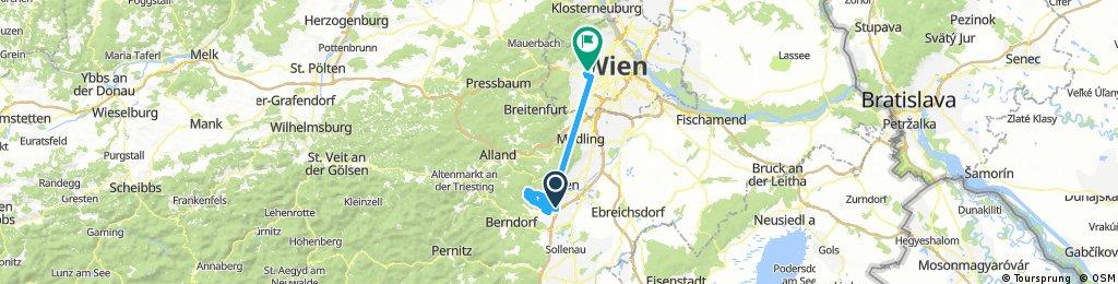 Lange Ausfahrt über Lindkogl