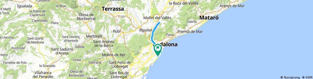 Lengthy bike tour from 24 de septiembre 17:42