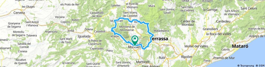 75km Gravallès Montserratina