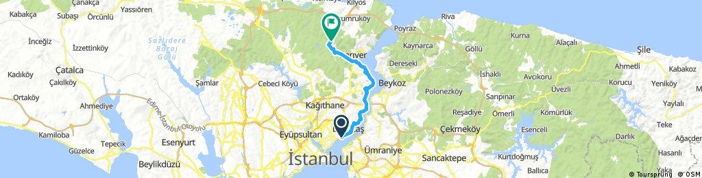 Beşiktaş- Belgrad Ormanı