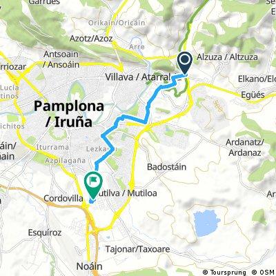 Entrada a Pamplona/Iruña BPB 2018