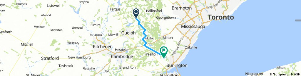 Lengthy bike tour from September 25, 14:17