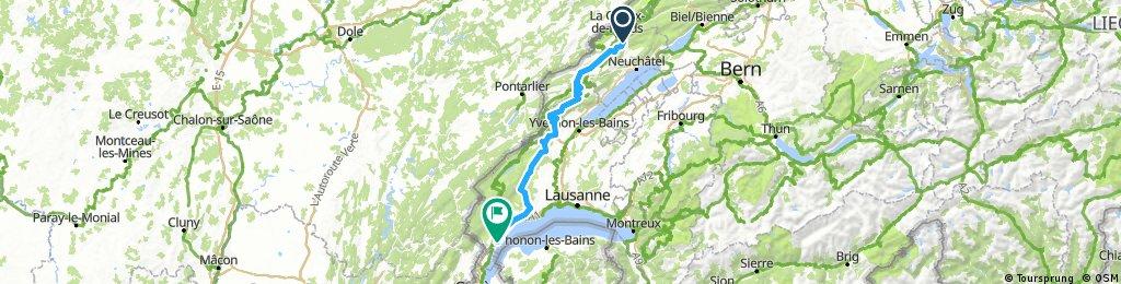La Vue des Alpes - Nyon