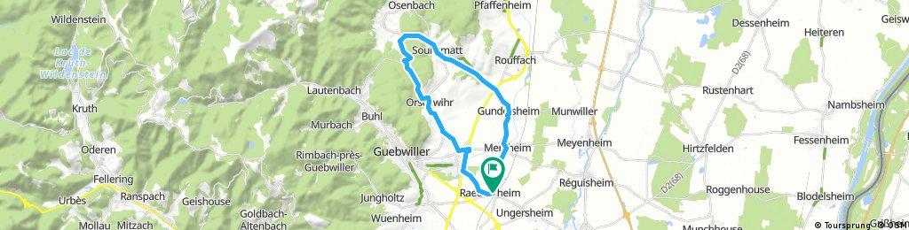 val du pâtre - raedersheim circuit 26km