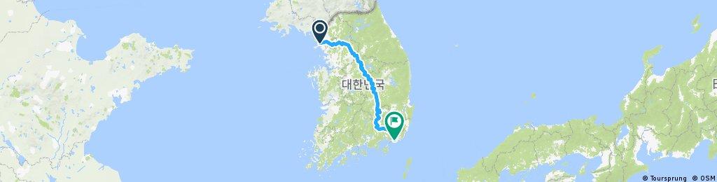 Ben Moyle Incheon - Busan