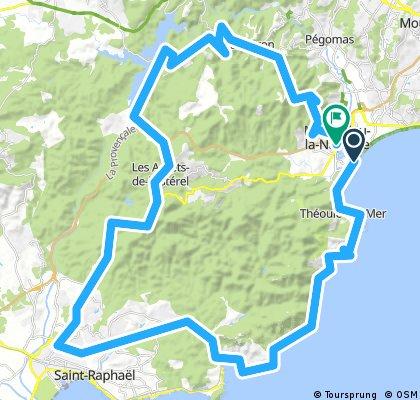 Mandelieu-Fréjus arrière-pays