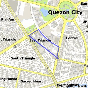 Cycling routes and bike maps in and around Quezon City  Bikemap