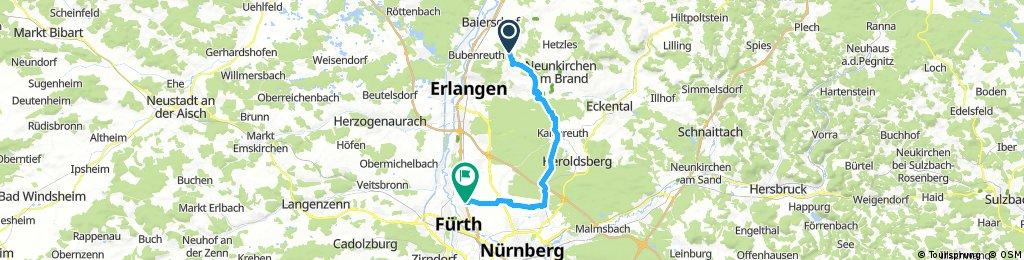 Von Adlitz über Kalchreuth nach Ronhof