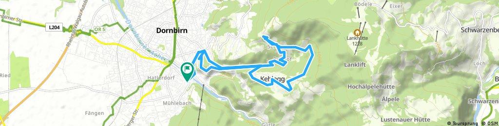 Dannerbruck-Eisenharz-Schwefel-Schauner-Schwende und retour