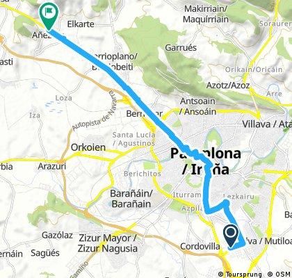 Salida de Pamplona / Iruña BPB 2018
