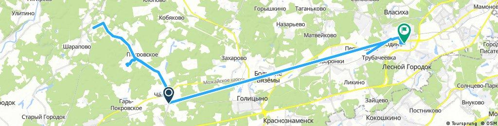 Сушкинская- Покровское