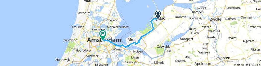 18-17 Lelystad - Amsterdam