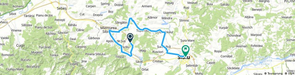 Amnas-Ocna Sibiului-Sibiu