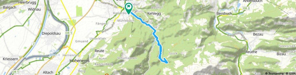 Dannerbruck-Rappenloch- Kobel und retour