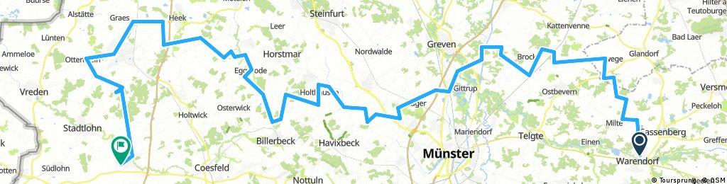 RennFietsen Tour 2017 - 2. Etappe