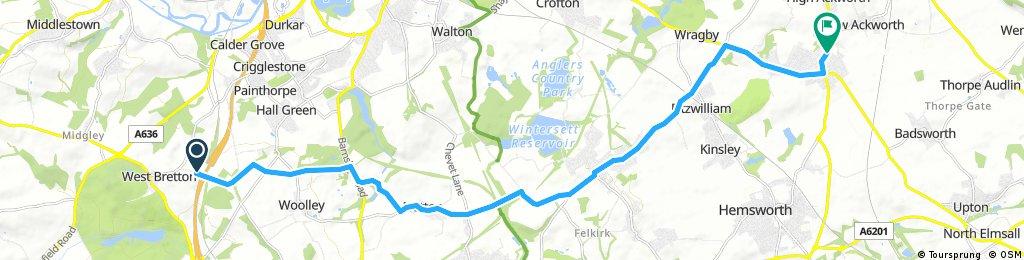 Woolley Edge - Ackworth