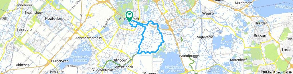 Amstelveen to Park Ronde Hoep