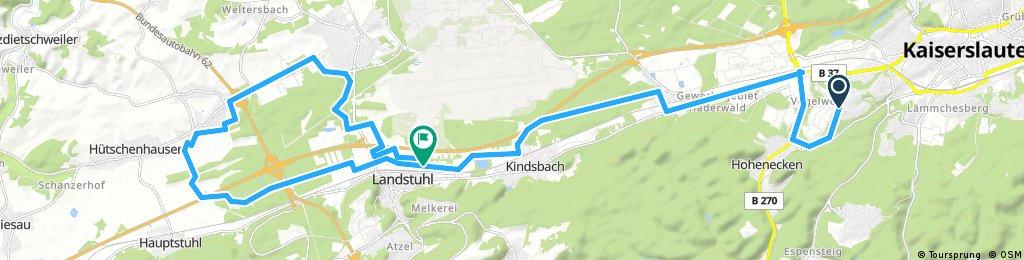KL - Spesbach - Ramst. - Einsiedlerhof