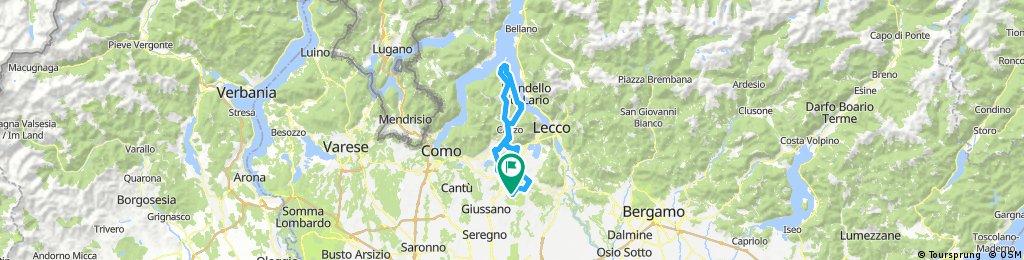 stazione Renate/Veduggio - Ghisallo - stazione Renate/Veduggio