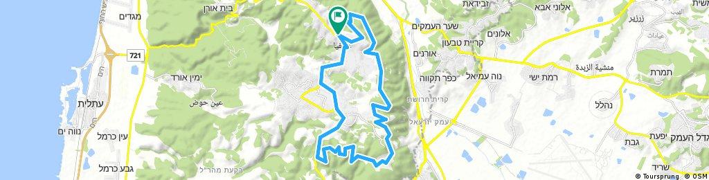 bike tour through Isfiya