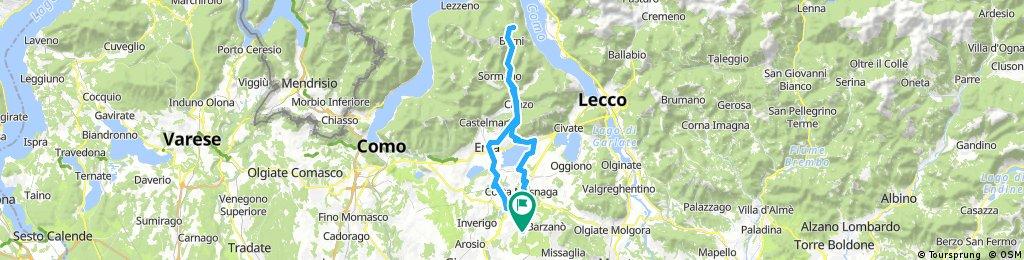 stazione Renate/Veduggio - Ghisallo - stazione Renate/Veduggio #2