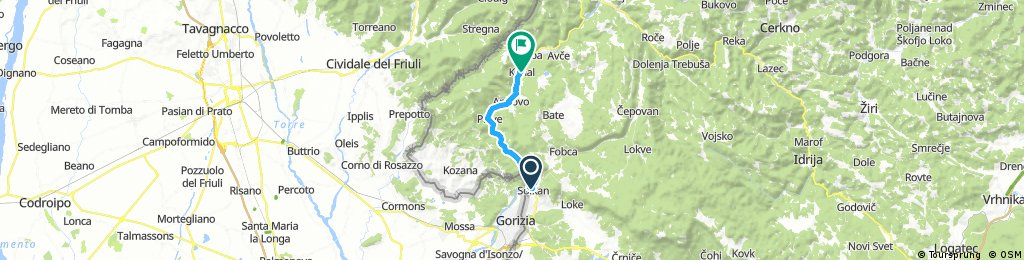 Solkan - Kanal  Transalpina
