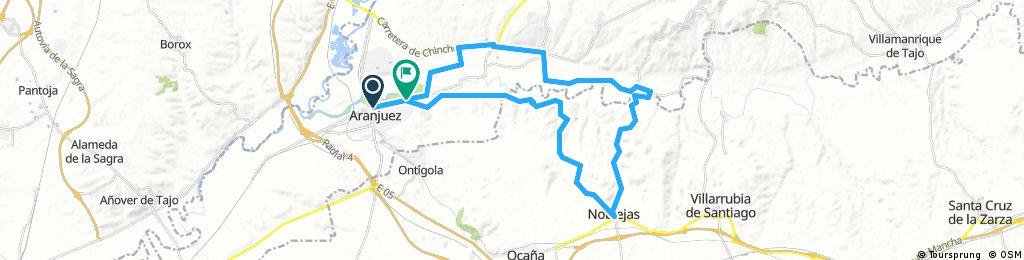 Aranjuez-Noblejas-Aranjuez