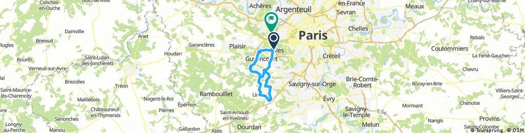 Long ride through Bougival
