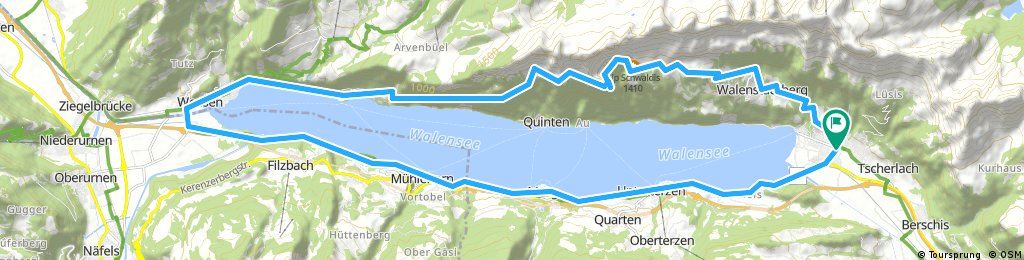 Walensee Roundtrip