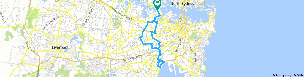 Drummoyne to Brighton