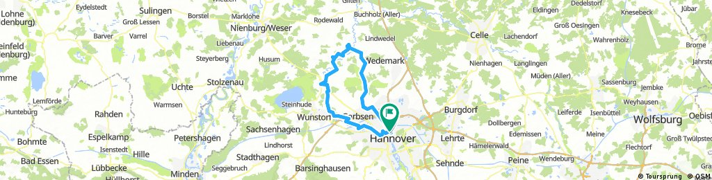 Von Hannover rund ums Moor