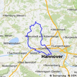 Cycling routes and bike maps in and around Hanover Bikemap Your
