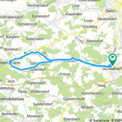 Schwabach-Heilsbronn-Schwabach