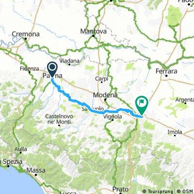 Parma - Scandiano - Sassuolo - Spilamberto - Bologna