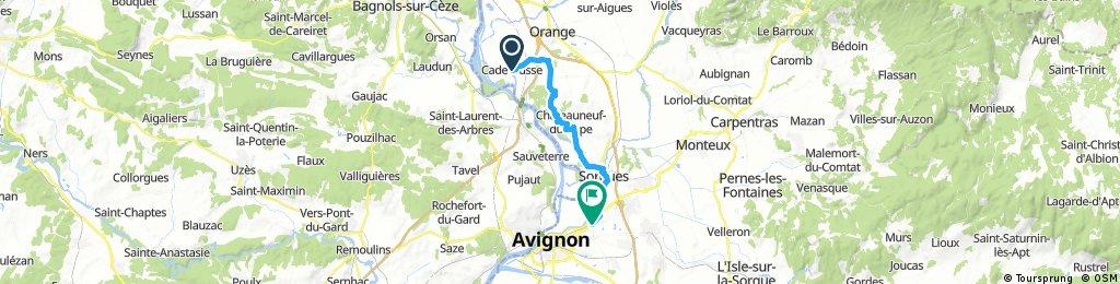 Recording from 30 se     Pont Saint Esprit- Rochefort 70km+30