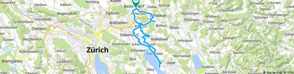 Bassersdorf - Niederuster - Bassersdorf