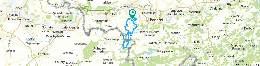 """Rando """" Les Déraillés"""" 75km"""