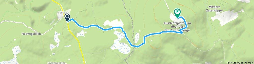 Goetheweg zum Brocken