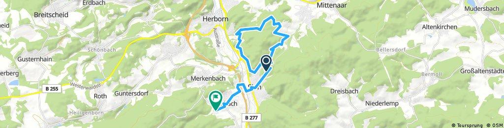 Sinn Waldschwimmbad Ballersbacher Viehweide
