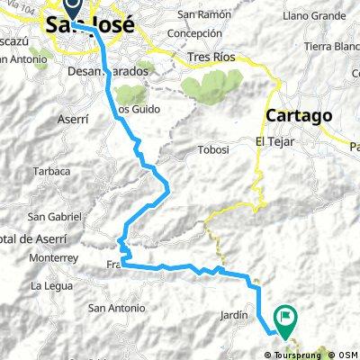 San Jose - Dota (quetzal lodge)