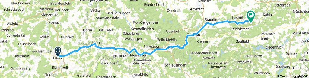 Fulda - Partschefeld (Süd)