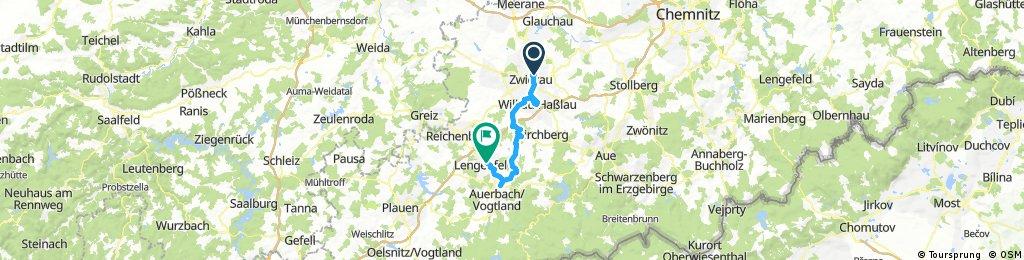 Zwickau-Rodewisch-Lengenfeld