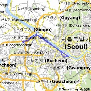 Cycling routes and bike maps in and around Bucheonsi Bikemap