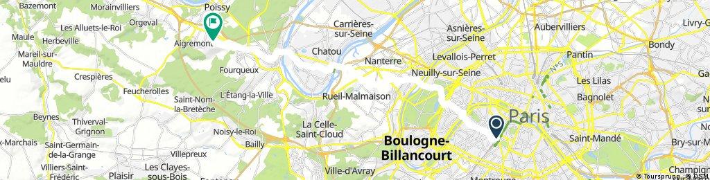Montparnasse - Chambourcy