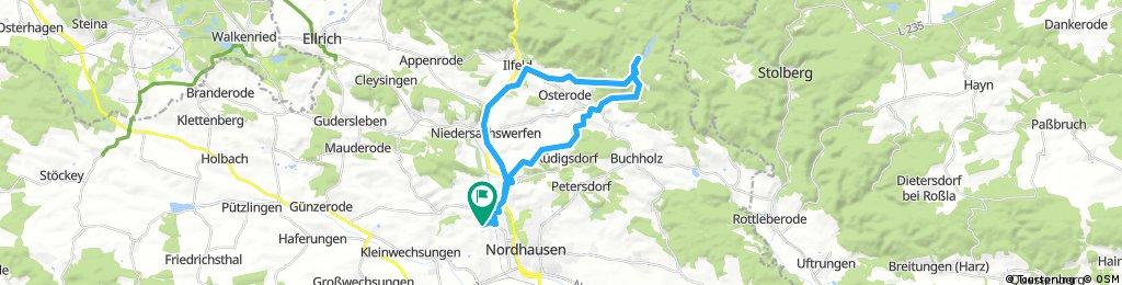 Mountainbike-Tour von Buchenweg zur Talsperre