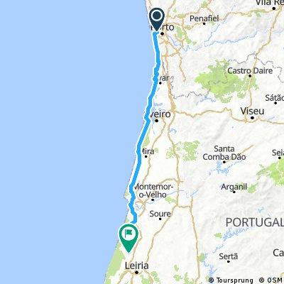 Portugal Tour - Tag 1: Porto - Mont Real